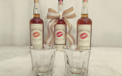 DIY Etched Glass Whiskey Tumblers