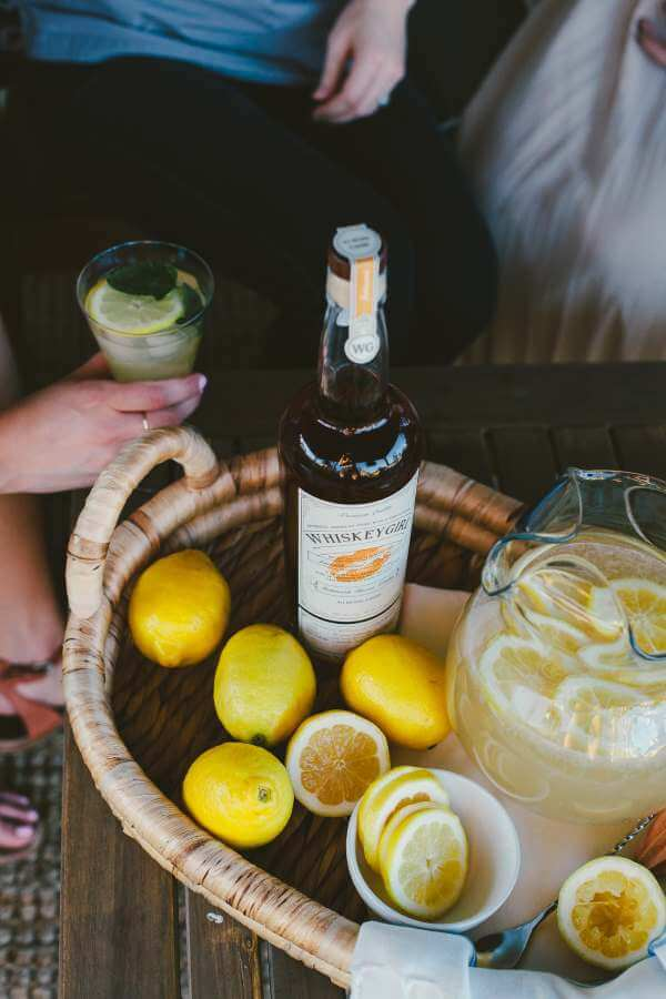 Big Batch Summer Cocktails with Whiskey Girl