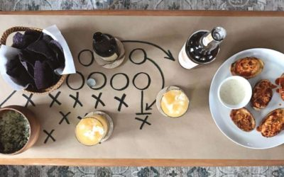 4 Simple Super Bowl Party Decor Ideas